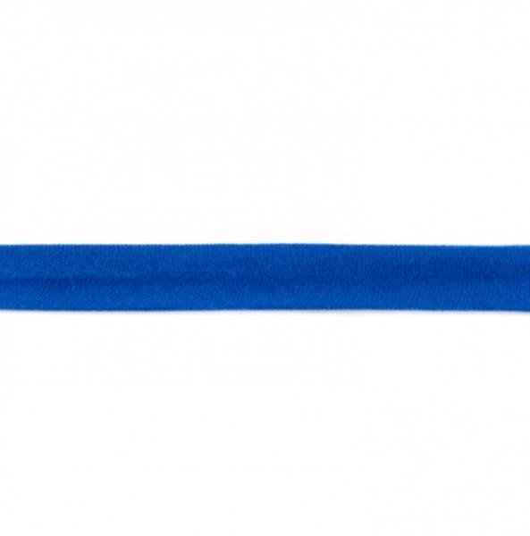 Baumwolljersey Einfassband - kobalt blau -
