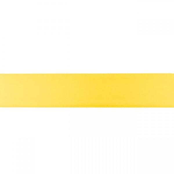 Zierband - gelb - 25mm