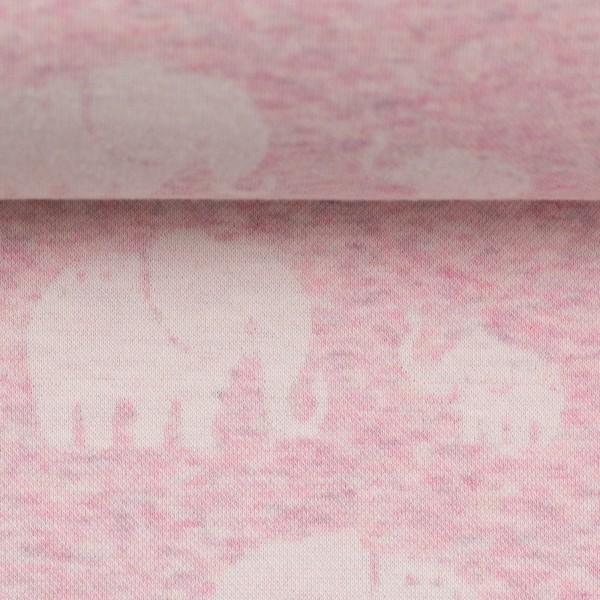 Swafing - Madita - Elefanten rosa - Jacquard Jersey