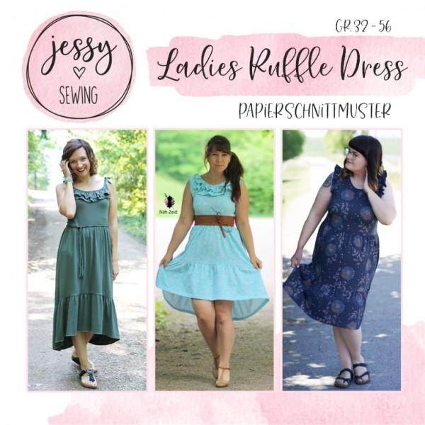 Papierschnittmuster - Jessy Sewing - Ladies Ruffle Dress