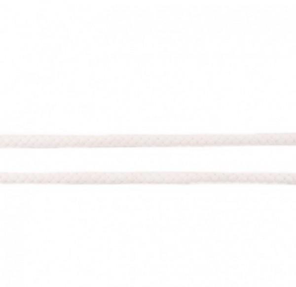 runde geflochtene Hoodiekordel - alt weiß - 8mm -