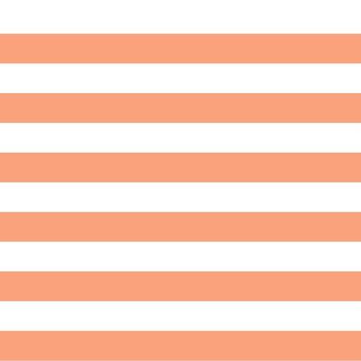 Preppy Stripe - pfirsich - French Terry