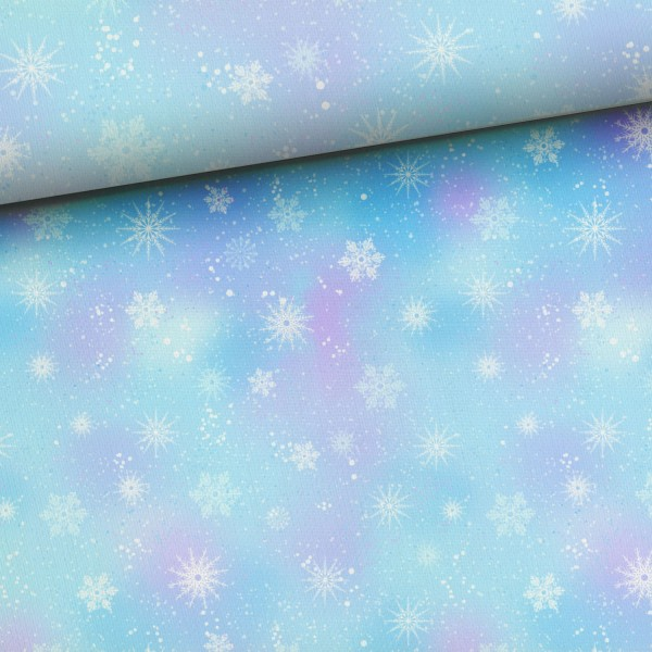Winterwunderland - Snowflakes - French Terry