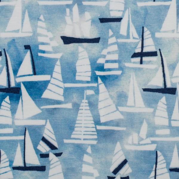 Swafing - Sailing - blau - BW-Jersey