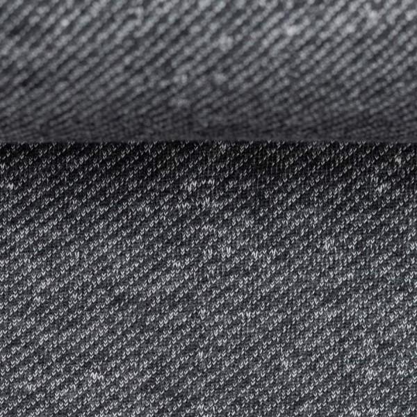 Swafing - Piet - schwarz - Sweat mit Fleeceabseite