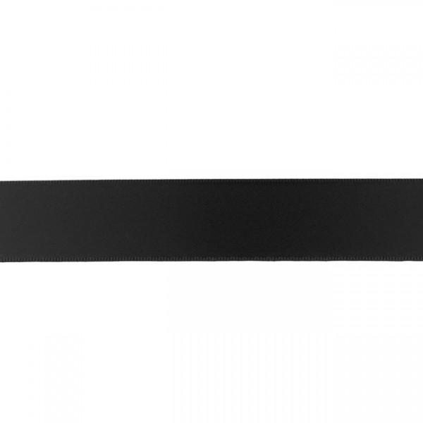 Zierband - schwarz - 25mm