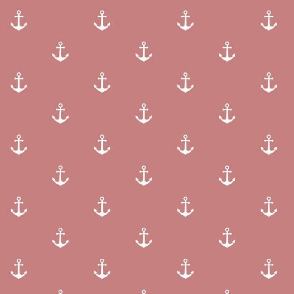 Anker - altrosa - Musselin