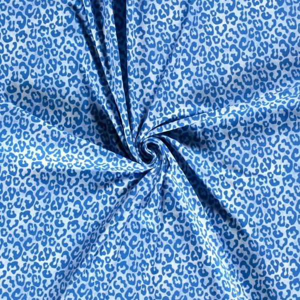 Denim-Style - Jeans Leopard - hellblau - BW-Jersey