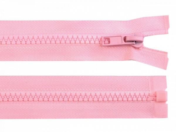teilbarer Reißverschluss - rosa - 60 cm - 1 Stk