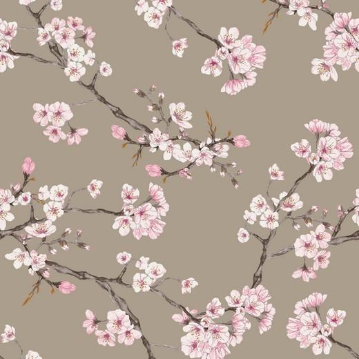 Rosella - Cherry Blossom - beige - Viskose