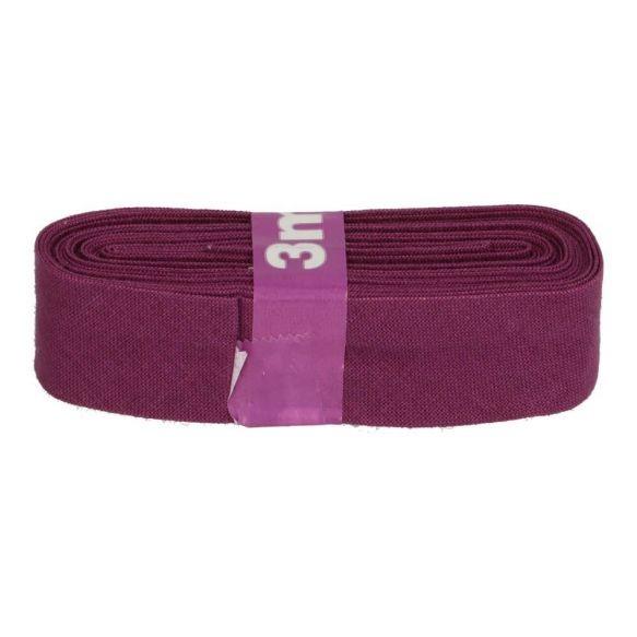 Baumwoll Einfassband - 12mm - lila - 3m