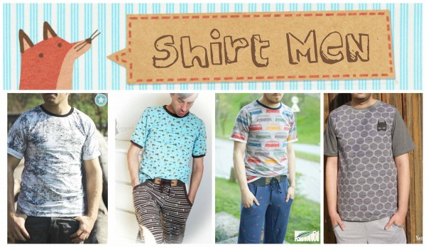 Schnittmuster - Shirt Men - Annas-Country
