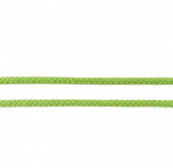 runde geflochtene Hoodiekordel - dunkel lime - 8mm -