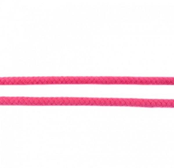 runde geflochtene Hoodiekordel - pink - 8mm -