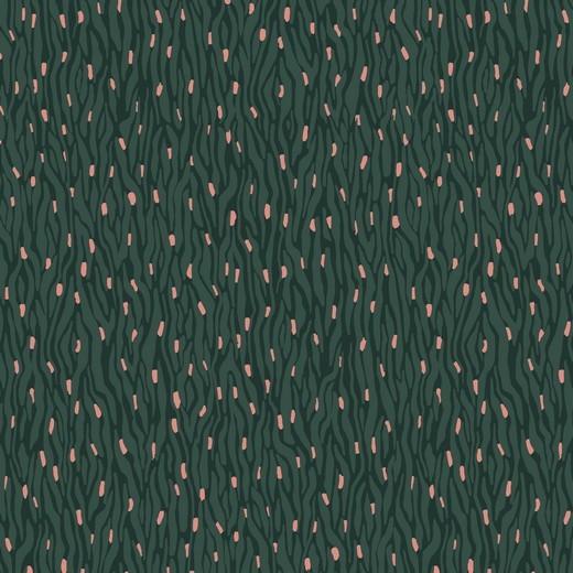 Sprenkel - tannengrün - Viskose