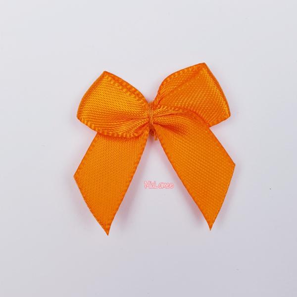 Zierschleife - orange -