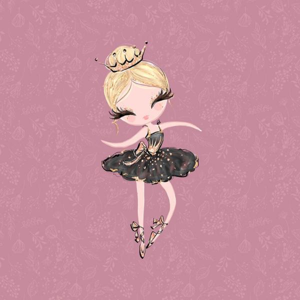 Panel - Ballerina - lila - Sommersweat -
