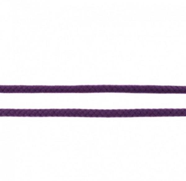 runde geflochtene Hoodiekordel - violett - 8mm -