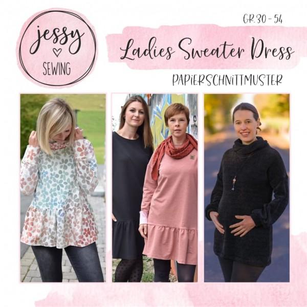 Papierschnittmuster - Jessy Sewing - Ladies Sweater Dress